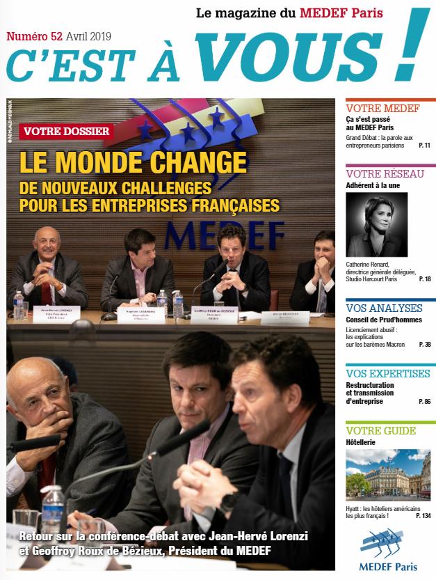 """Magazine """"C'est à vous!"""" Avril 2019"""